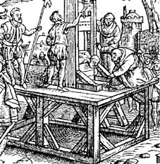 dr guillotin and his execution machine
