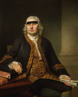 NPG 3834; Sir John Fielding by Nathaniel Hone