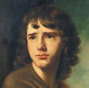 Nathaniel Hone The Spartan Boy. John Camillus Hone,  son of the artist