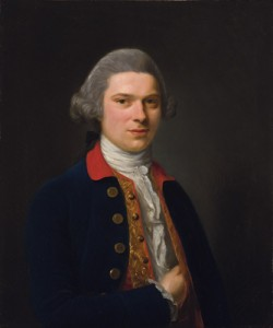 Nathaniel Hone portrait of a gentleman 1769