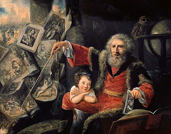 nathaniel hone the conjurer 1775