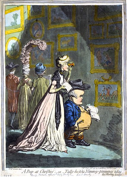 Dighton v Gillray