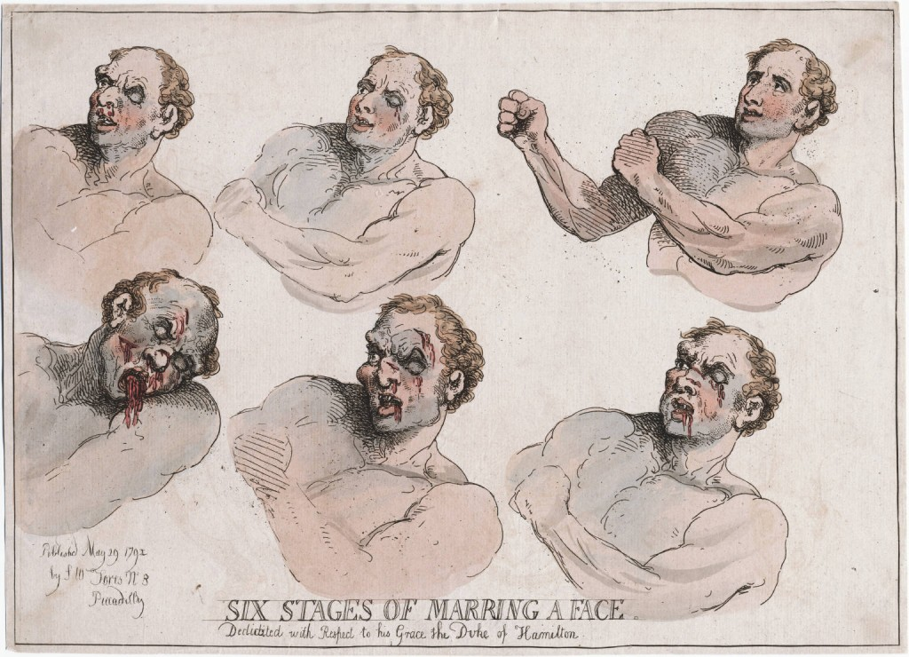 Rowlandson 6 stages