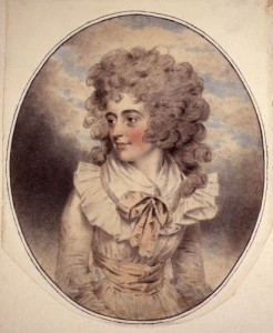Eliza Farren.Chalk drawing by John Downman,1787.Courtesy of the National Portrait Gallery