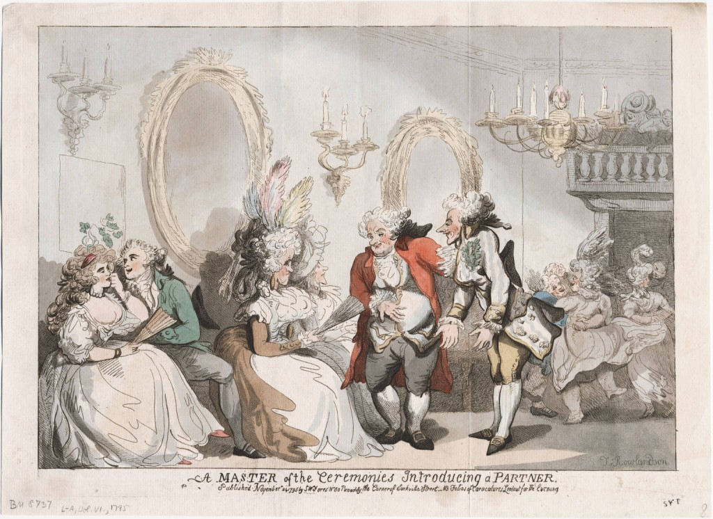 A Master of Ceremonies Bath lwlpr08640 Rowlandson 1795