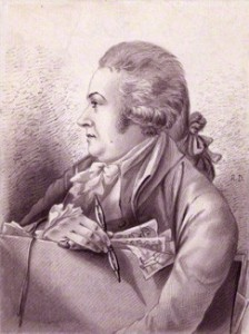 Robert Dighton, self-portrait, 1787 © National Portrait Gallery