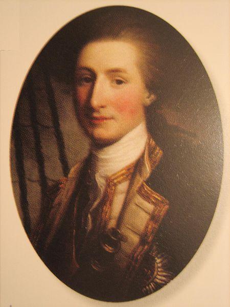 Sir John Lindsay by Nathaniel Hone