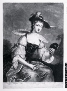 The Celebrated Miss Murray, c British Museum