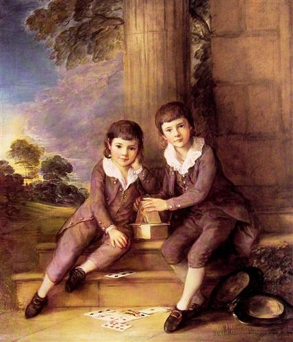 John and Henry Trueman Villebois by Thomas Gainsborough