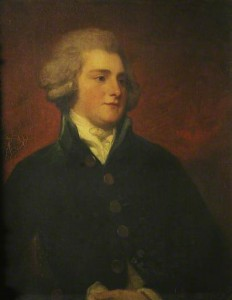 Sir Thomas Tyrwhitt shown courtesy of Christ Church College, Oxford.