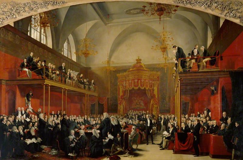 The trial of Queen Caroline 1820