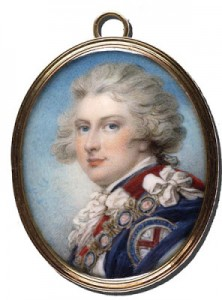 The Prince of Wales, by Richard Cosway (private collection).