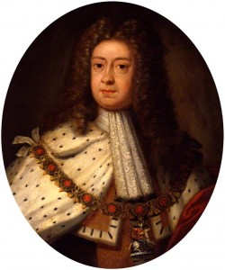 George 1st, c.1714, painted by Sir Godfrey Kneller