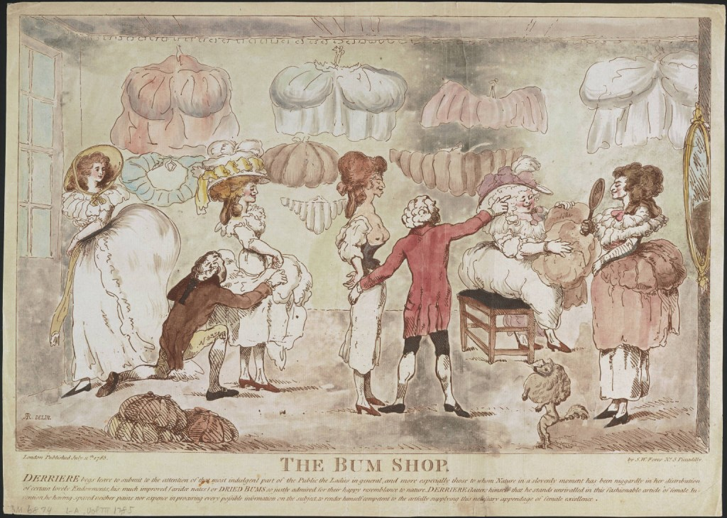 The Bum Shop, courtesy of the Lewis Walpole Library