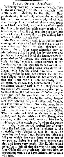 Gibbs 4 London Chronicle Oct 11 1799