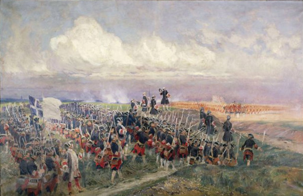 At the start of the Battle of Fontenoy the French and British generals apparently had a meetign to discuss who would get to fire first. They don't make wars like that any more....
