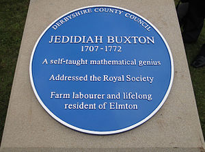 Blue plaque shown courtesy of Wikipedia