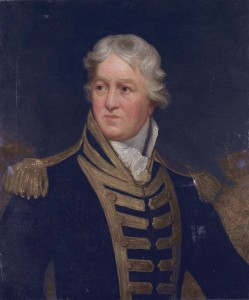 Admiral Charles Middleton, later Lord Barham (1726-1813)  *oil on canvas on board  *75.5 x 63.2 cm  *19th century