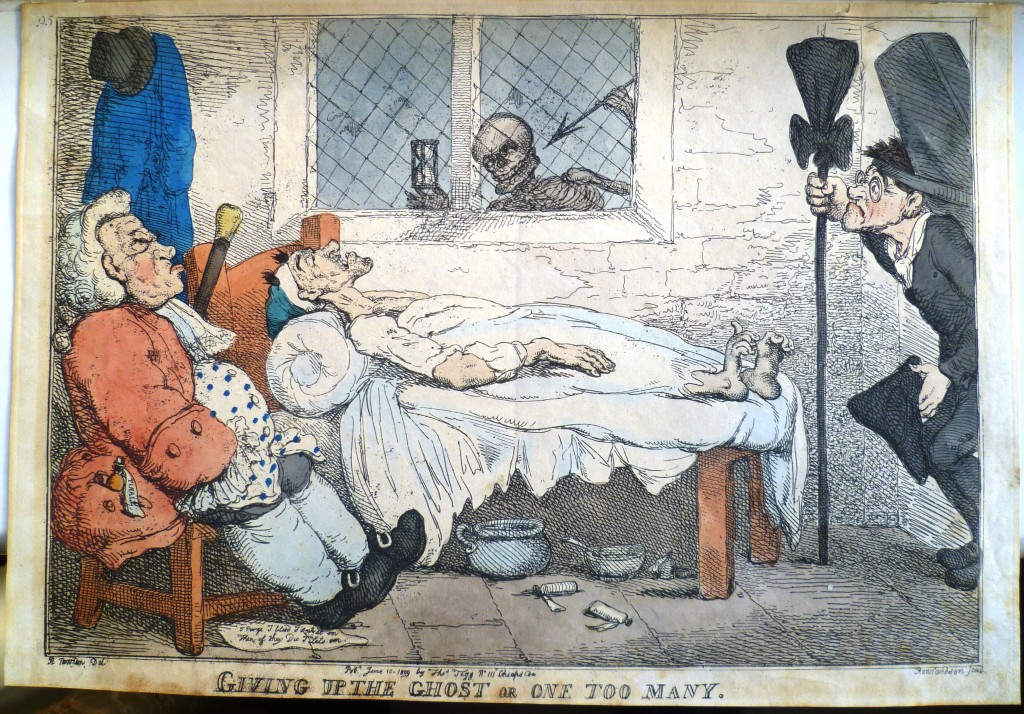 Rowlandson medical print