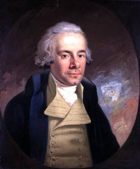 William Wilberforce by Anton Hickel, (1745-98)