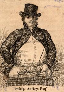 NPG D9009; Philip Astley after Unknown artist