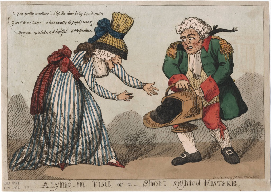 A Lying in Visit, or a Short Sighted Mistake, by Thomas Rowlandson