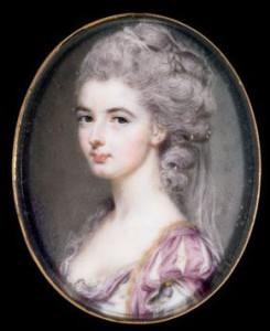 Portrait of a lady,  1782, courtesy of Cincinnati Art Museum.
