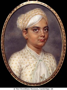 An Indian Prince, 1788, shown courtesy of the Fitzwilliam Museum