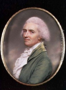 John Smart self portrait.