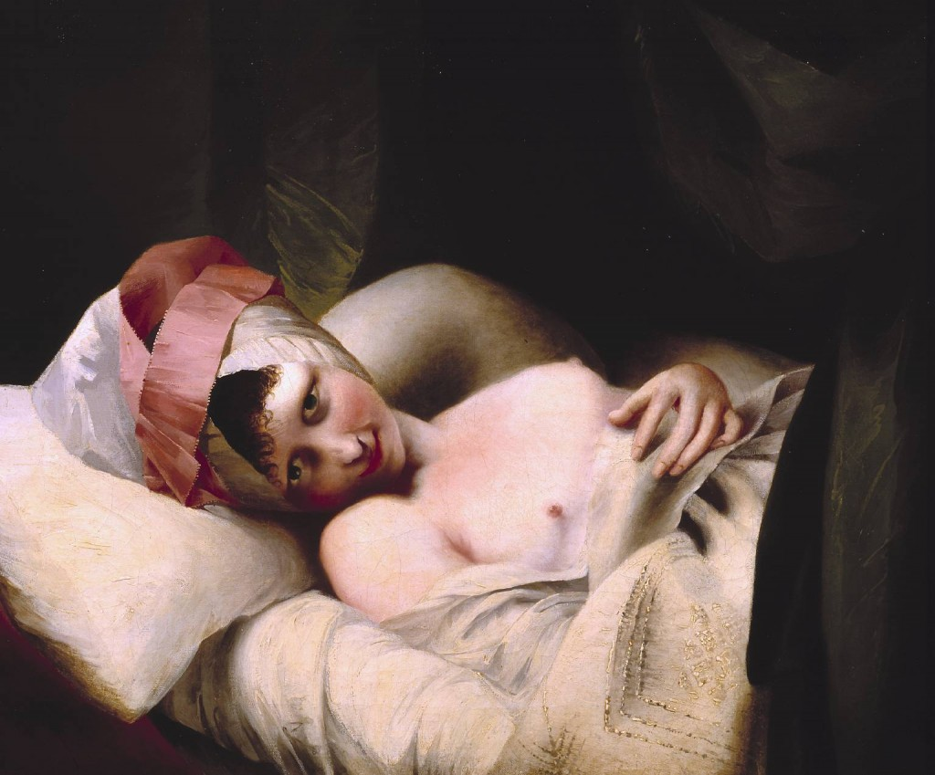 Lydia. circa 1777 . shown courtesy of the Tate Museum