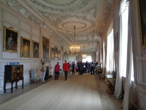 The Long Gallery when I visited it ...