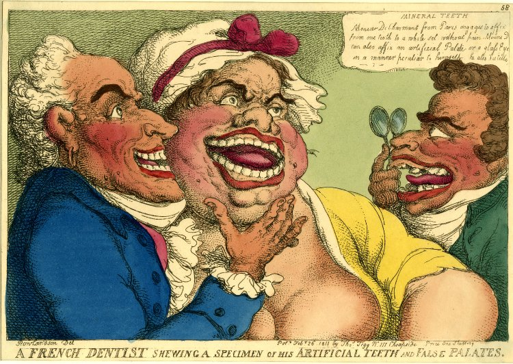 Rowlandson's French Dentist 1811