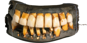 George Washington's dentures, courtesy of Mount Vernon