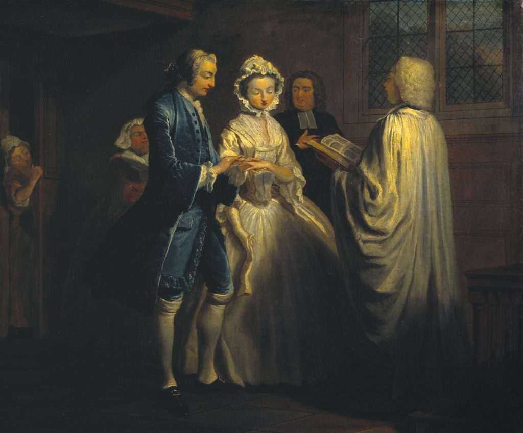 A few thoughts on marriage …. 18th century style – Georgian Gentleman