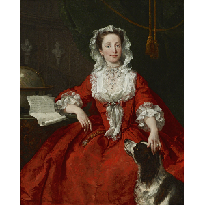 Mary Edwards by William Hogarth, Frick Collection.
