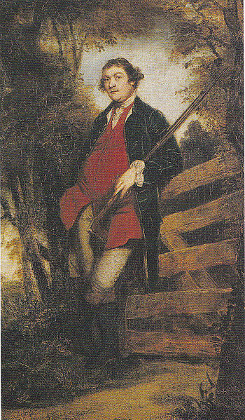 John Parker, First Baron Bornngdon, by Joshua Reynolds
