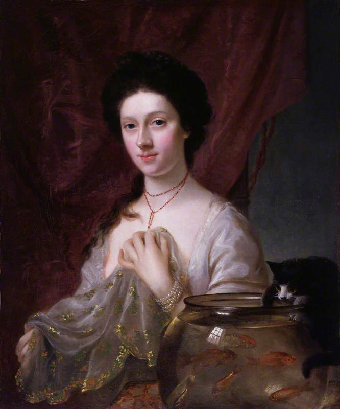 Hone I, Nathaniel; Kitty Fisher; National Portrait Gallery, London; http://www.artuk.org/artworks/kitty-fisher-156834